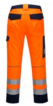 Spodnie robocze odblaskowe trudnopalne MV36 PORTWEST